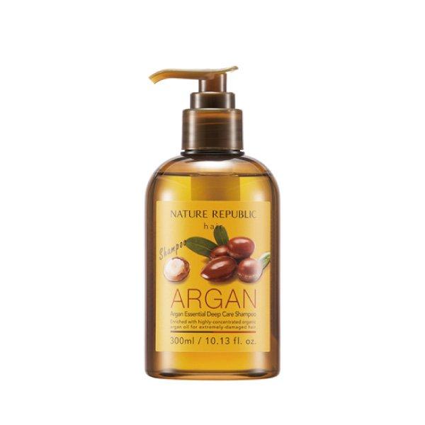 韓國Nature Republic 摩洛哥堅果精華深層護理洗髮精 (300ml)【櫻桃飾品】【23184】