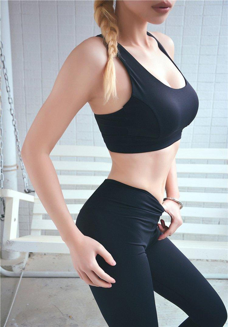 中度支撐可調節美背運動內衣 7