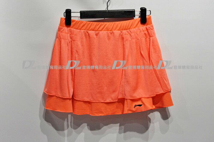 【登瑞體育】LINING 女生羽網球褲裙 - LNASKK1421