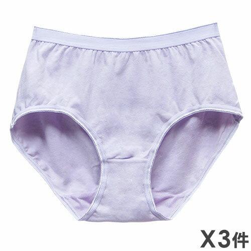任2組$299【夢蒂兒】素色天然棉中高腰三角褲 3件組(隨機色出貨) - 限時優惠好康折扣