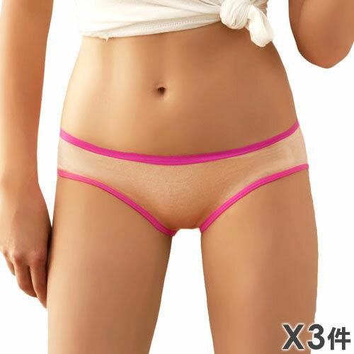 3件199免運【夢蒂兒】時尚運動風三角褲  3件組(隨機色出貨) 0