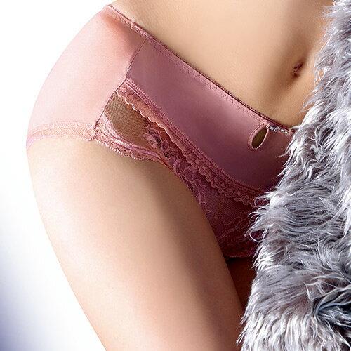 【Favori】-2℃ 冰絲美塑涼感平口褲(珍珠粉) 0