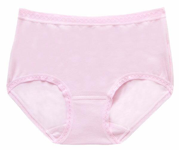 【夢蒂兒】MIT素色舒棉中腰三角褲(粉) 1