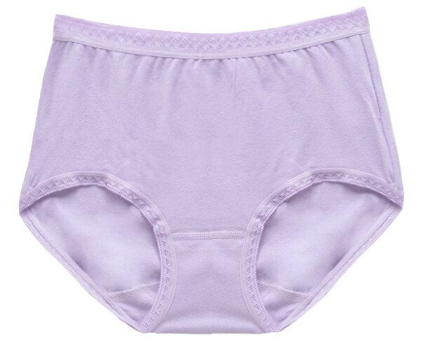 【夢蒂兒】MIT素色舒棉中腰三角褲(紫) 1