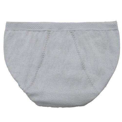 全店免運【AJM】MIT素色防漏中低腰三角生理褲(灰) 1