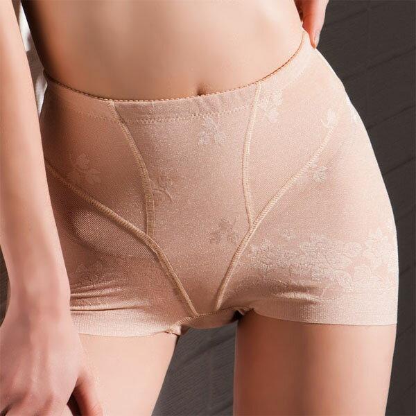 【Emon】700丹 機能美臀修飾短平口束褲(膚) 0