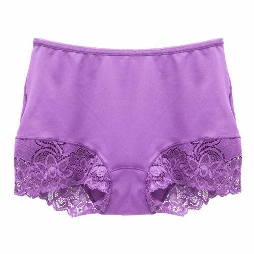 【AJM】MIT輕柔舒適竹炭中腰平口褲(玫瑰紫) 1