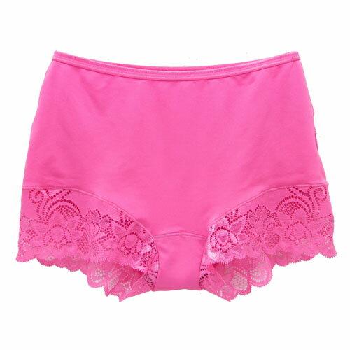【AJM】MIT輕柔舒適竹炭中腰平口褲(玫瑰粉) 1