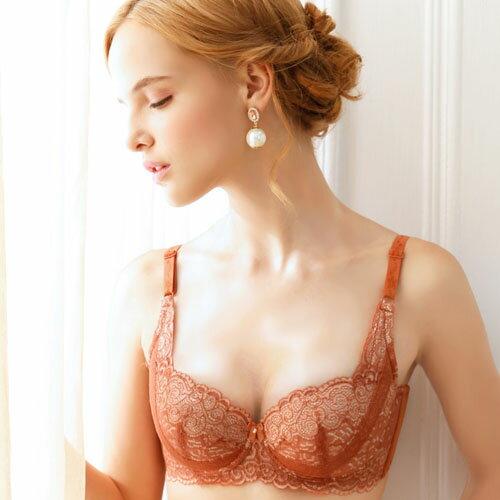 【AJM】美胸i拉提 BC罩杯輕機能成套內衣(裸膚) 1
