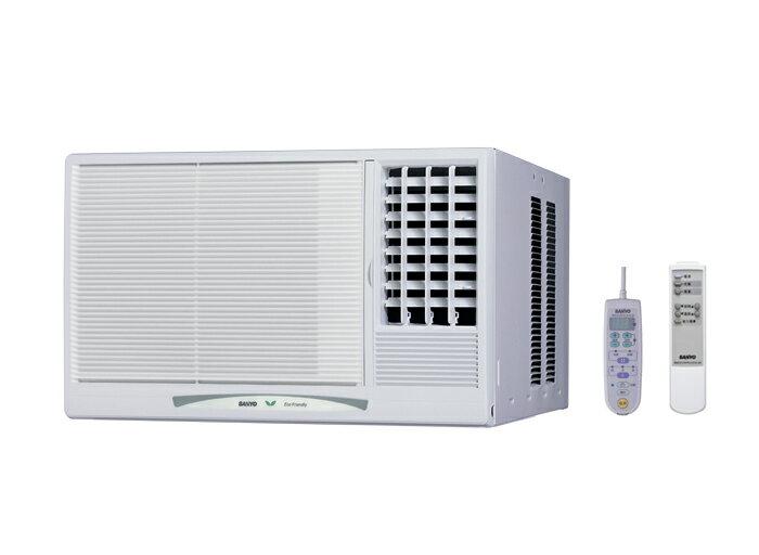 【SANLUX 三洋】單冷窗型冷氣SA-L41A(左吹)/ SA-R41A(右吹)