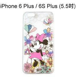 迪士尼空壓氣墊軟殼 ^~花草^~ 米妮 iPhone 6 Plus  6S Plus ^(