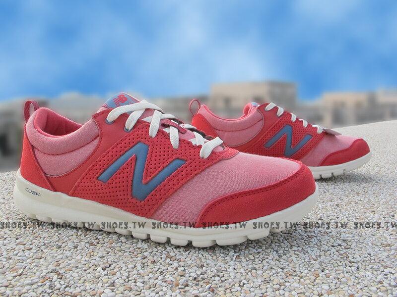《超值56折》Shoestw【WL315SP】NEW BALANCE NB 專業慢跑鞋 紅粉紅 透氣布 女款