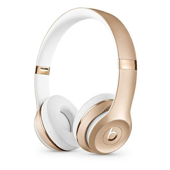 Beats by Dr. Dre Solo3 Solo 3 Wireless Headband Headphones Headset Gold Silver