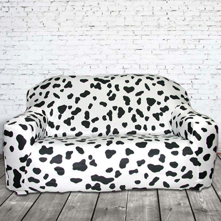 沙發罩(沙發套)/超細纖維彈性布/#118大麥町