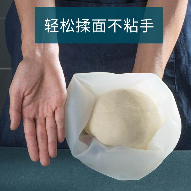 YSJ發面神器 家用醒面活面硅膠袋揉面帶袋子食品和面不粘加厚大號