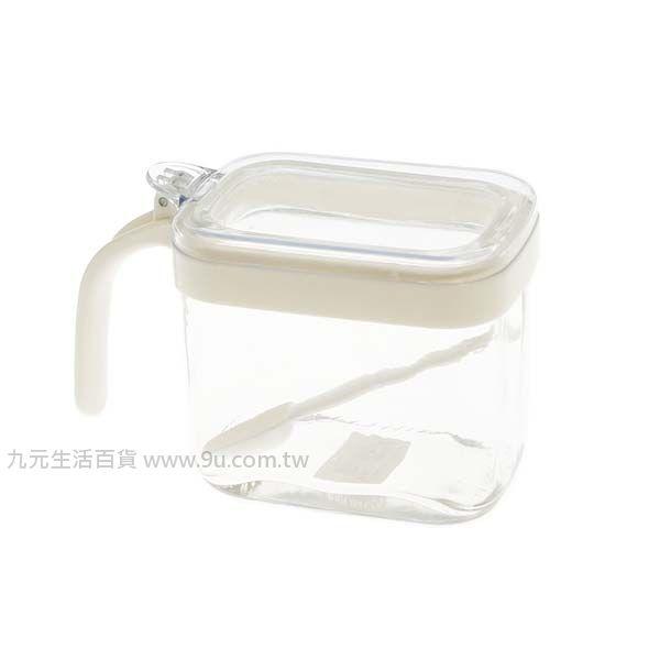 【九元生活百貨】美廚方型玻璃調味盒 調味罐 鹽罐 胡椒罐