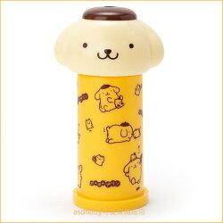 asdfkitty可愛家☆布丁狗造型彈跳式棉花棒罐(含10支棉花棒)-可當抽籤筒-抽幸運籤-當擺飾-日本正版商品