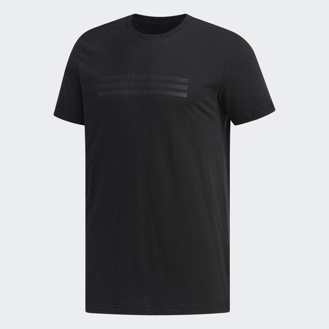 ADIDAS GFX 3S 男裝 短袖 休閒 慢跑 經典 基本款 舒適 黑【運動世界】DZ2206