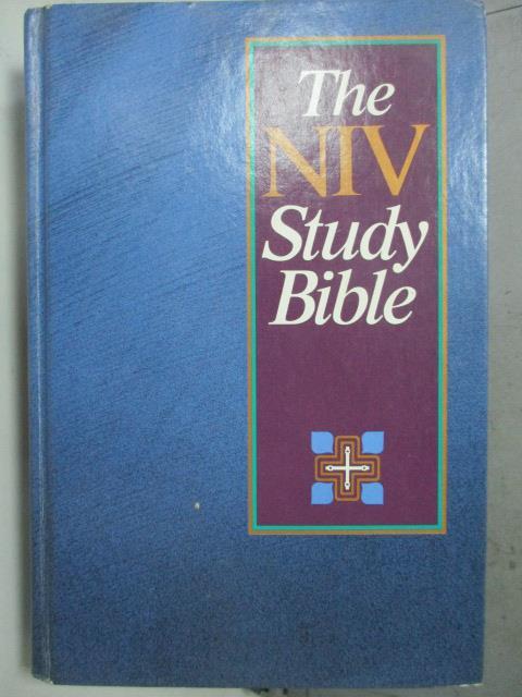 ~書寶 書T8/原文書_HNU~The NIV Study Bible_Zondervan