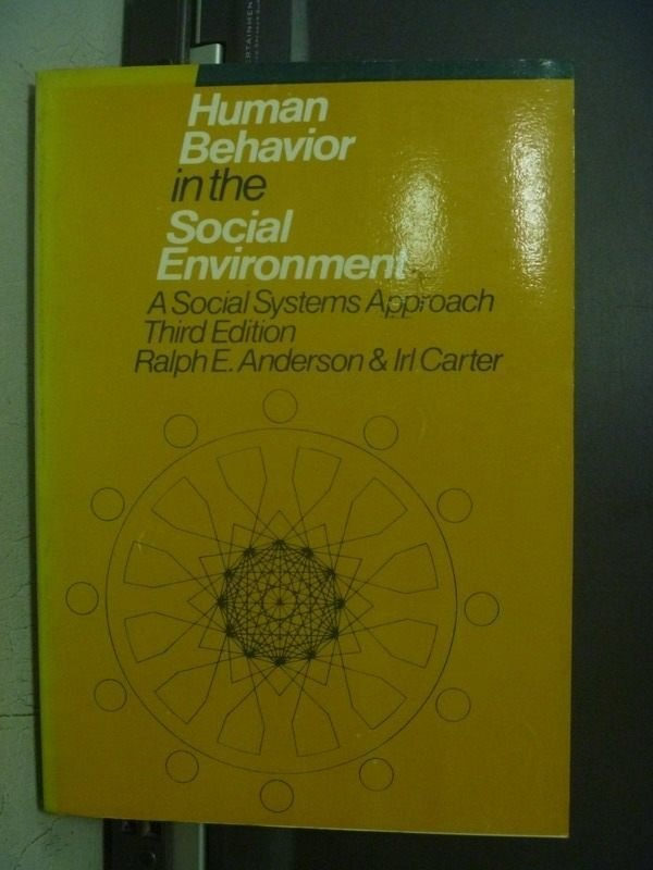 【書寶二手書T9/大學社科_OEA】Human Behavior in the Social...1984
