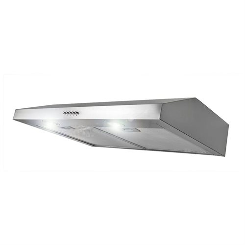 "AKDY 30"" AK-FSD-Y0175SS Stainless Steel Under Cabinet Range Hood 130CFM W/3 Color 0"