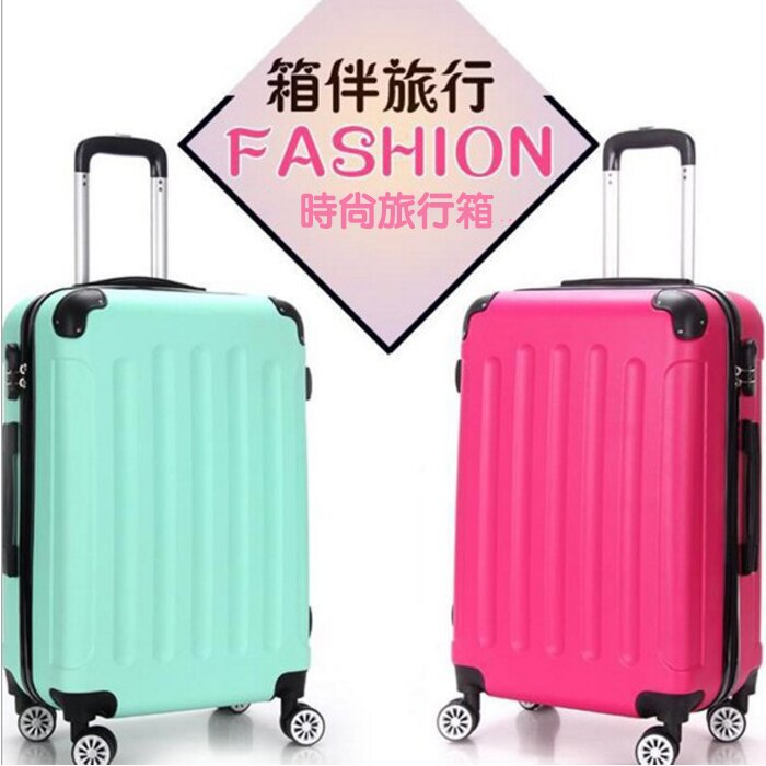 糖衣子輕鬆購【DZ0186】20吋時尚登機箱旅行箱ABS+PC拉桿箱彩色密碼登機旅行箱