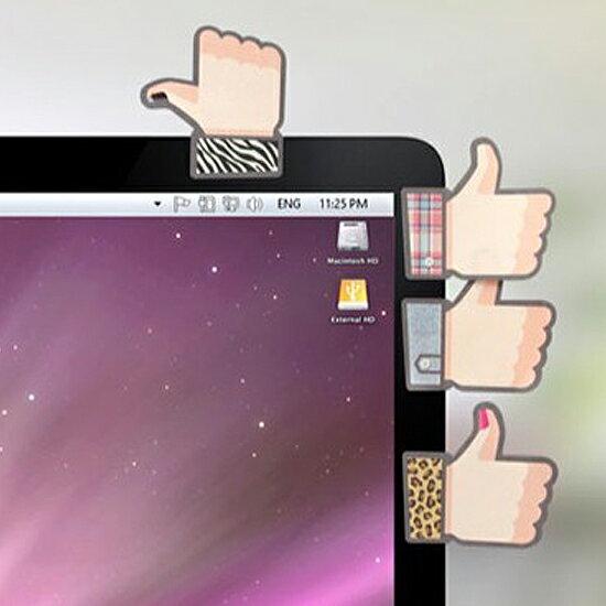 ♚MY COLOR♚創意拇指造型便利貼 文具 學生 辦公室 桌面 便籤 留言 備忘 提醒 造型 閨蜜【K50-2】