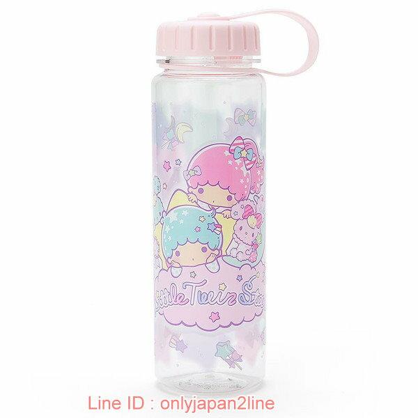 【真愛日本】17021000062  塑膠冷水瓶-TS棒棒糖紫+AAA  三麗鷗家族 Kikilala 雙子星  隨手壺 冷水壺