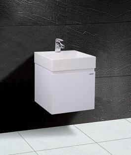 【caesar凱撒衛浴】LF5255A一體瓷盆+EH154浴櫃組、瓷面排桿.落水頭)