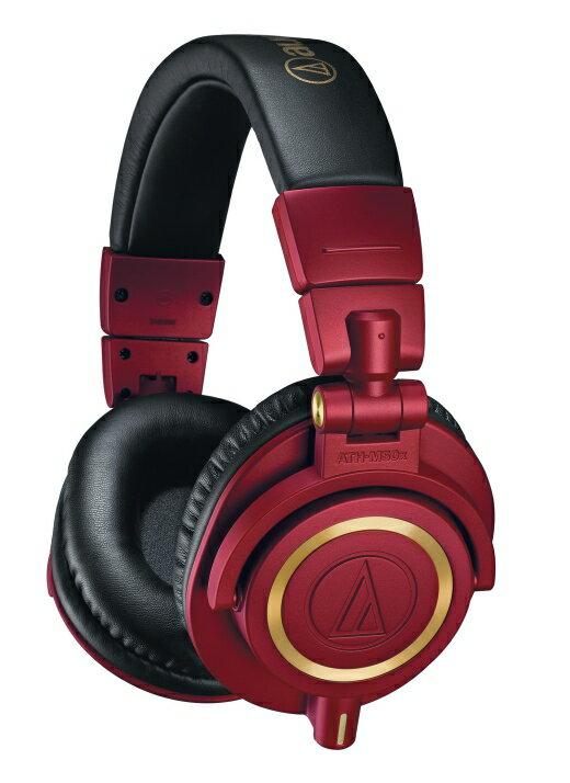 <br/><br/>  ☆宏華資訊廣場☆ ATH-M50x RD 經典監聽耳機的特別限定版 奢華的紅金配色<br/><br/>