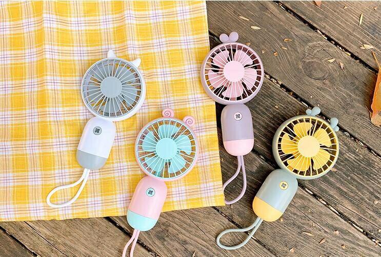 小風扇 手持小風扇usb充電迷你便攜式學生宿舍靜音大風力隨身小型電扇