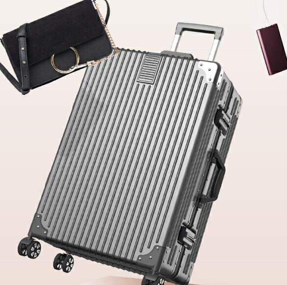 行李箱22寸ins網紅鋁框24學生萬向輪20寸小型潮男女密碼旅行拉桿
