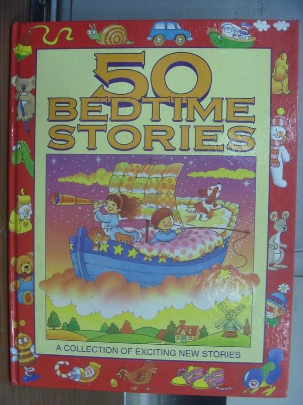 【書寶二手書T6/語言學習_PGQ】50 bedtime stories_a collection of...