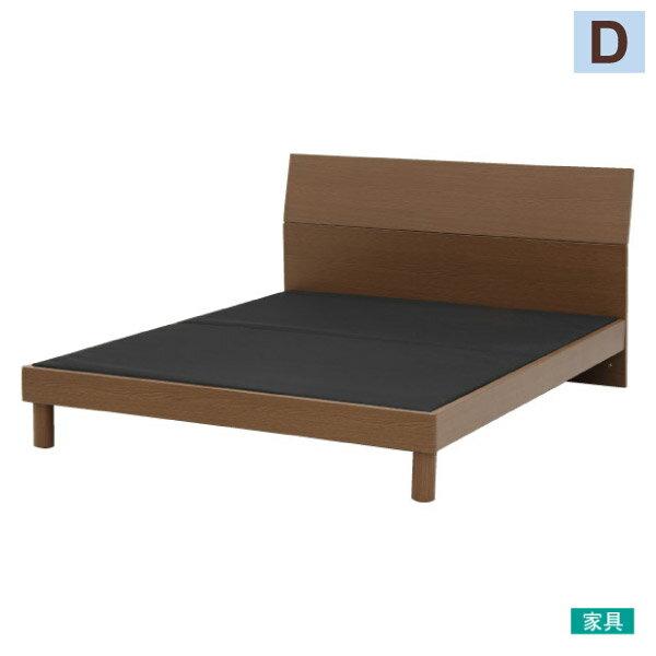 ◎雙人床座床架T-BENTMBRNITORI宜得利家居