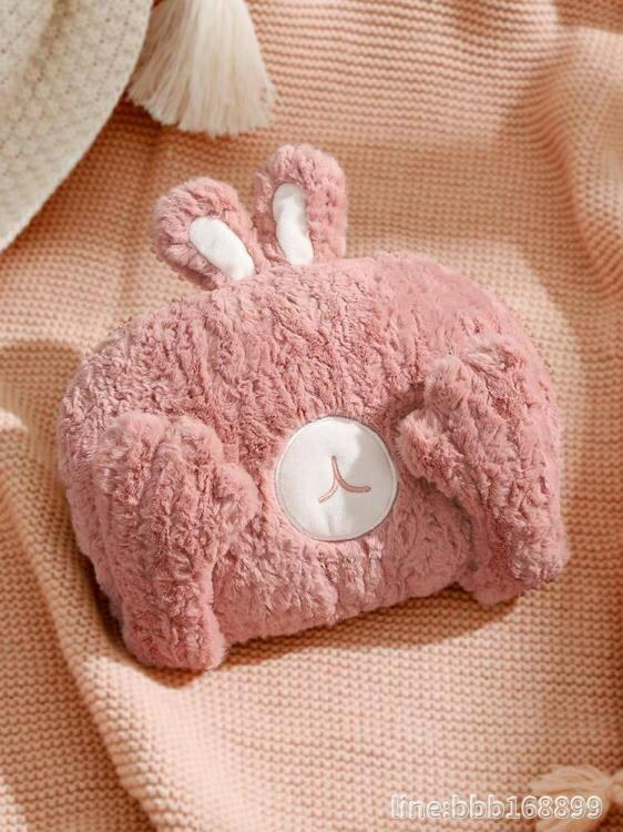 热水袋 冬季熱水袋充電防爆暖手寶煖寶寶毛絨可愛女學生暖水袋電暖寶 走心小賣場