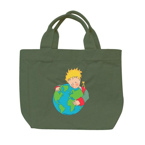 【小王子經典版】托特包-第七個星球-地球(軍綠)
