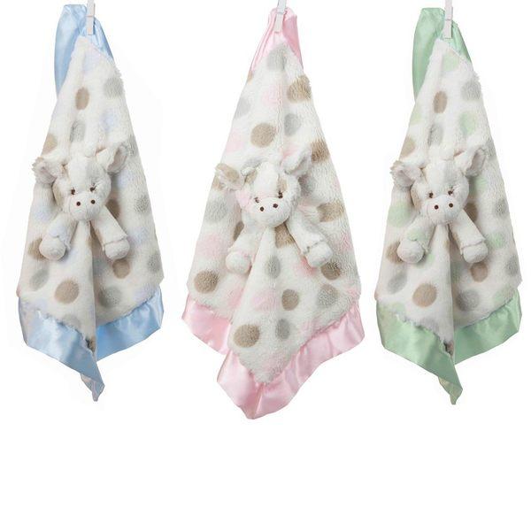 美國小長頸鹿 Little Giraffe -嬰兒安撫巾 (LXDBLG Little G Blanky)【綠色】