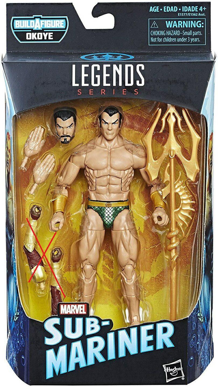 (卡司 正版現貨)Marvel Legends 6吋 漫威 電影版 黑豹 Sub Mariner 海王 海王子 無BAF