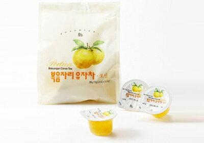 韓國 鮮果園人氣柚子茶隨身包(15顆/袋)
