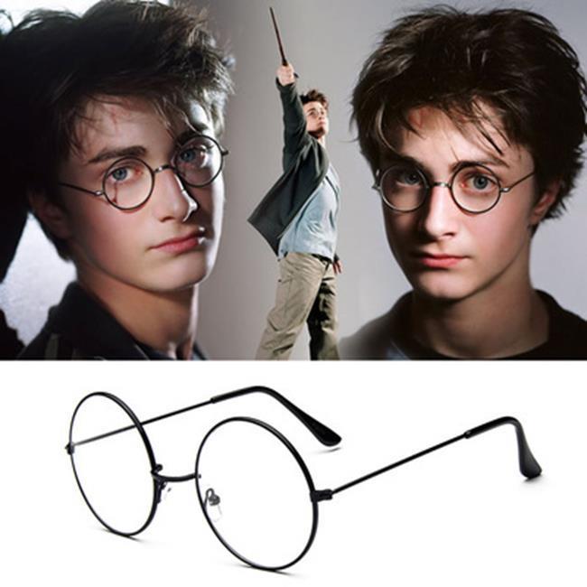 50%OFF【J021150GLS】哈力波特經典復古大框圓形眼鏡框032 金屬韓版框架鏡平光鏡潮眼鏡架