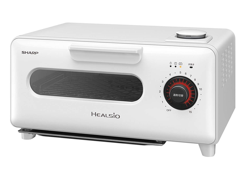 日本公司貨 白色 SHARP AX-H1 水波爐蒸氣烤箱 吐司烤箱 溫度控制 蒸氣 四種菜單模式 三段火力 烤吐司