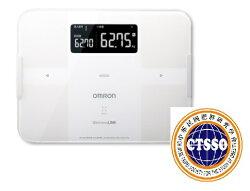 OMRON歐姆龍體脂肪計 HBF-254C(白色),限量加贈專用提袋(送完為止)