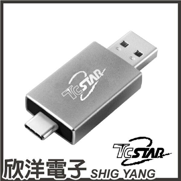 ※欣洋電子※Type-CUSBA雙接頭MicroSD讀卡機(TYC-CR001GR)