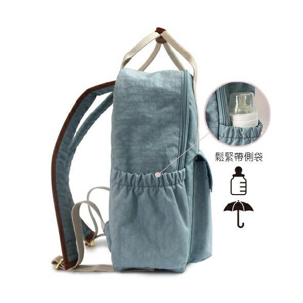 ★CORRE【JJ025】簡約皮革後背包★ 深藍/海軍灰/情人紅 共三色 5