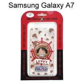 海賊王透明軟殼 Samsung A700Y Galaxy A7 [雞腿] 魯夫 航海王保護殼【正版授權】