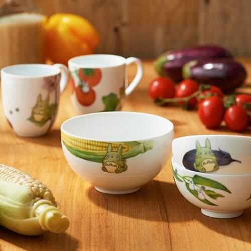 日本宮崎駿龍貓豆豆龍馬樂杯陶瓷杯番茄412063