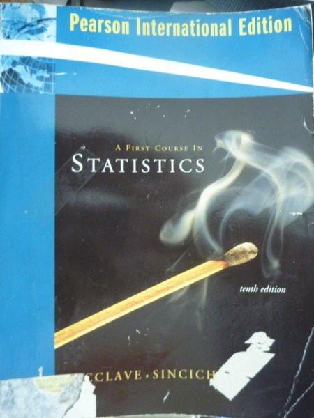 ~書寶 書T7/大學商學_QAZ~A First Course in Statistics