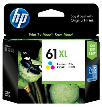 【HP 墨水匣】HP CH564WA/NO. 61XL 原廠 彩色大容量墨水匣