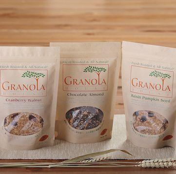 【小麥的家】天然手工餅乾【果麥脆片三包裝】蔓越莓、巧克力、南瓜子各1包 (燕麥片)