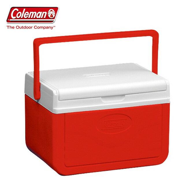 【Coleman 美國】Take冰箱 冰桶 保鮮桶 保冰箱-紅色/CM-01356M000